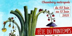 Fête du printemps des jardins autour de Chambéry du 2 au 12 juin 2021