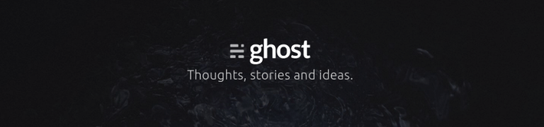 Ghost-blog-publishing