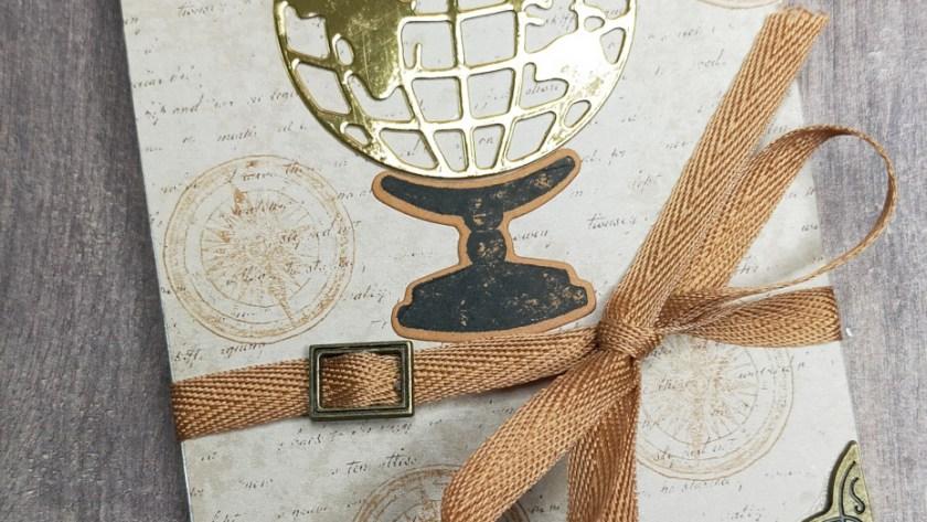 Niya Scrap - carte Pop-Up - Collection Tour du Globe - Tutoriel Vidéo - Matériel Stampin' Up!