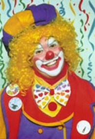 Clown for party and event entertainment