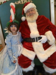Santa Claus look-alike