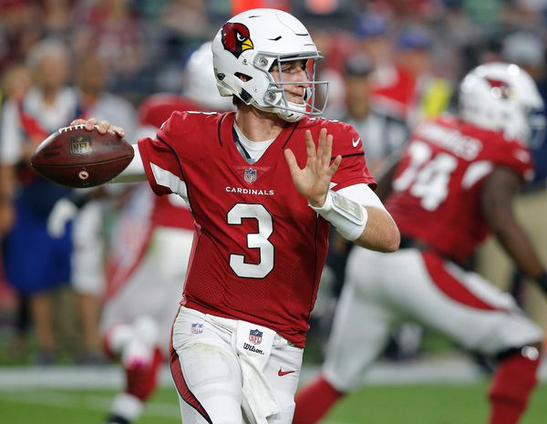 The Giants reportedly have interest in trading for Arizona Cardinals quarterback Josh Rosen. (Associated Press)