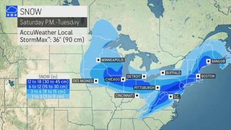NJ weather - snow forecasts 1-30-21