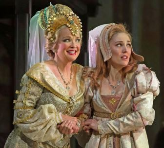 "Christine Ebersole, left, and Mara Davi co-star in ""Ever After."""