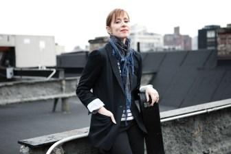 Suzanne Vega performs at Light of Day's Jan. 14 event at the Cutting Room in New York.