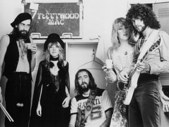 Fleetwood Mac (from left, Mick Fleetwood, Stevie Nicks, John McVie, Christine McVie and Lindsey Buckingham) in a 1975 publicity photo.