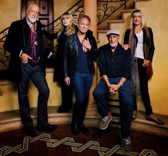 Fleetwood Mac (from left, Mick Fleetwood, Stevie Nicks, Lindsey Buckingham, John McVie and Christine McVie).