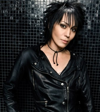 Joan Jett performs at the Count Basie Theatre in Red Bank, Saturday night.