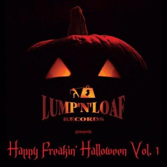"""The compilation album, """"Happy Freakin' Halloween, Vol. 1."""""""