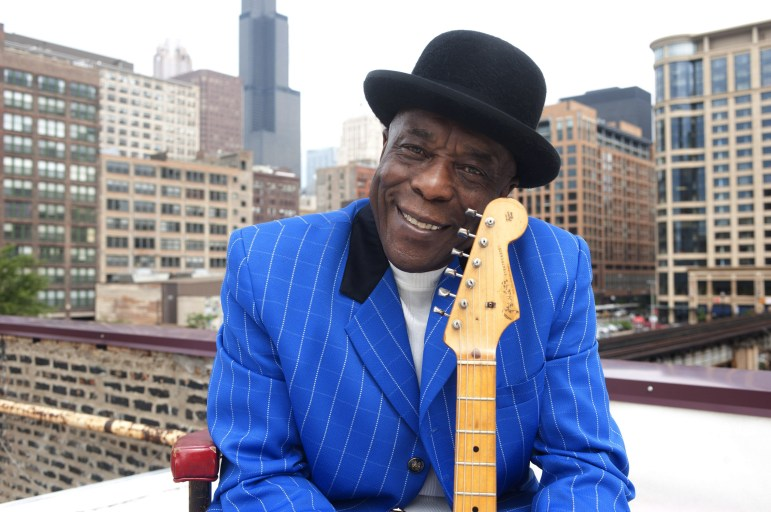 Buddy Guy performs at the State Theatre in New Brunswick, Wednesday.