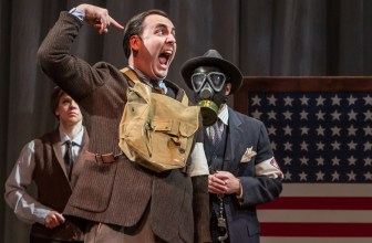 """Jeffrey M. Bender plays the buffoonish Dogberry in """"Much Ado About Nothing."""""""