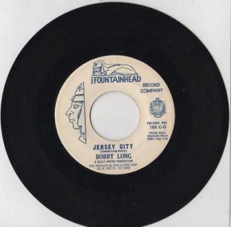 """The 1960 single """"Jersey City,"""" by Bobby Long."""