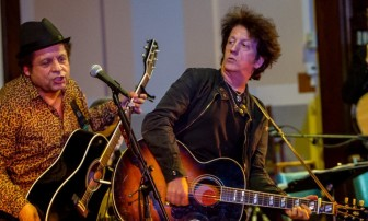 Garland Jeffreys and Willie Nile.