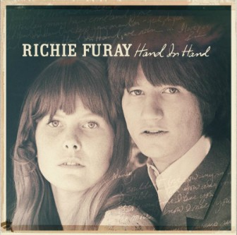 """The cover of Richie Furay's new album """"Hand in Hand"""" features the 1967 wedding photo of him and his wife, Nancy. They are still married."""