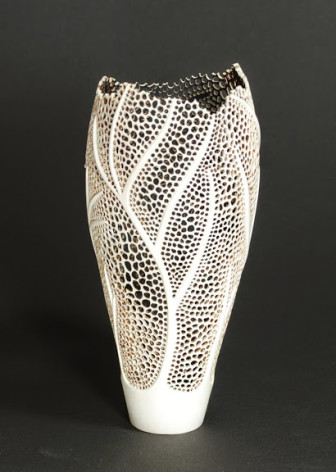 """Buren Gilpin's """"Nature's Lace,"""" made from wood, is part of the ."""
