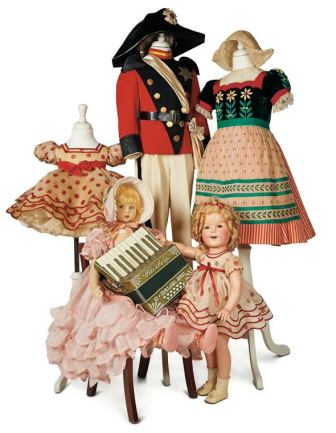 Items from the late Shirley Temple Black's collection of costumes, dolls and memorabilia will be on display at the Morris Museum in May.