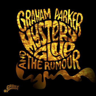 """The cover of the new Graham Parker and the Rumour album, """"Mystery Glue."""""""