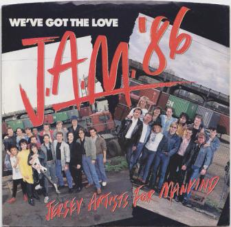 "The cover of the ""We've Got the Love"" single."