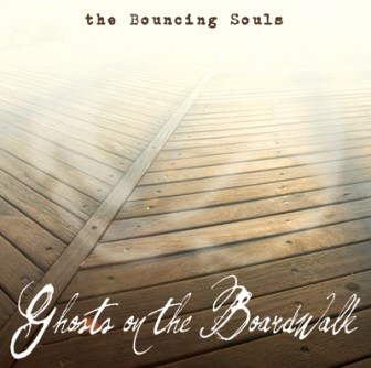 "The cover of The Bouncing Souls' 2010 album, ""Ghosts on the Boardwalk."""