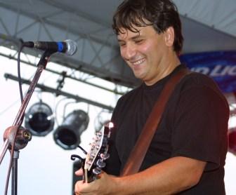 Festival producer and performer Joe D'Urso.