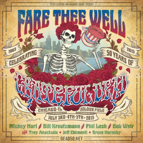The Grateful Dead: A complete list of their NJ concerts - NJArts