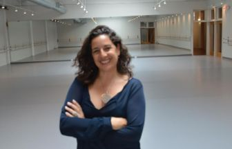 Nancy Turano at New Jersey Dance Theatre Ensemble's new home in Summit.