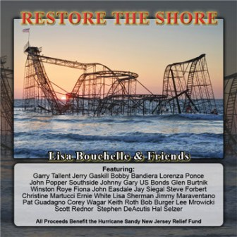 "The cover of the ""Restore the Shore"" single."
