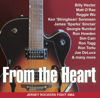 """The cover of the """"From the Heart"""" CD."""
