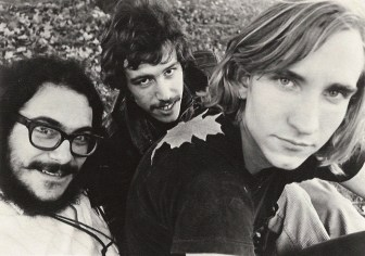 Joe Walsh, right, in a James Gang publicity photo.