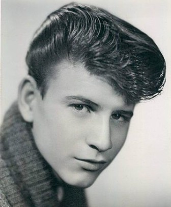 Bobby Rydell, in a vintage publicity photo.