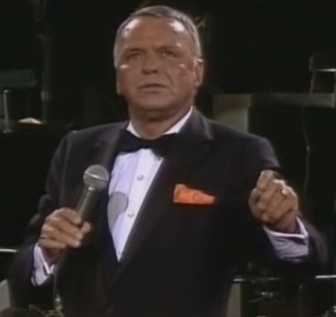 "Frank Sinatra sings ""The House I Live In"" at The Concert for the Americas in 1982."