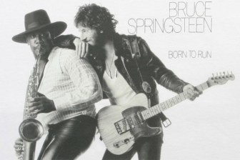 "The cover image of Bruce Springsteen's ""Born to Run"" album."