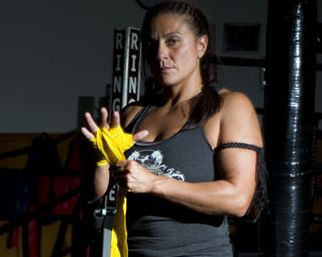 Girl Fight owner and former World Kickboxing Association champion Prairie Rugilo.