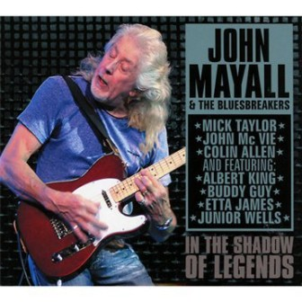 """The cover of the John Mayall & the Bluesbreakers concert album, """"In the Shadow of Legends."""""""