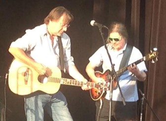 Southside Johnny and Neal Pawley perform Saturday night in Fort Lee.