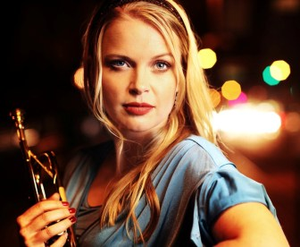 Trumpeter and singer Bria Skonberg will perform in Flemington on Friday.