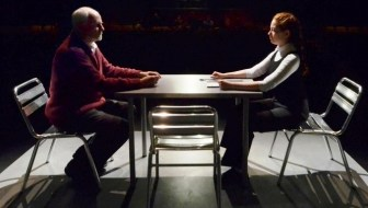 "Craig MacDonald and Erica Knight in ""The Nether."""