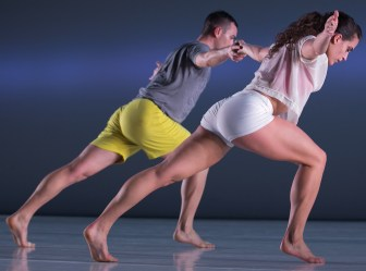 "Brandon Collwes and Claire Westby dance in ""Horizon."""