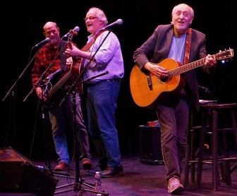 Peter Yarrow performs with the duo, Mustard's Retreat, at the Grunin Cener.