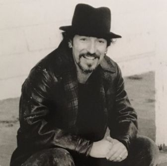 Bruce Springsteen in a 1995 publicity photo. He performed at his old elementary school, St. Rose of Lima in Freehold, the next year.