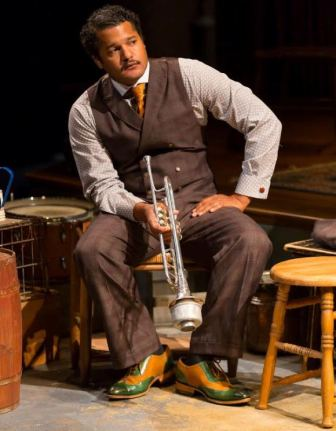 """Brandon J. Dirden stars in """"Ma Rainey's Black Bottom,"""" which will be at the Two River Theater in Red Bank through Oct. 9."""
