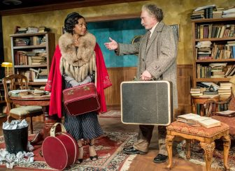 "Erika LaVonn played Marian Anderson, with Joel Leffert as Albert Einstein, in ""My Lord, What a Night."""