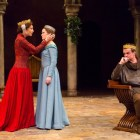 """From left, Dee Hoty, Madeleine Rogers and Michael Cumpsty co-star in """"The Lion in Winter,"""" with is at the Two River Theater in Red Bank through Dec. 4."""
