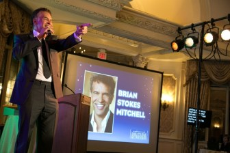 Brian Stokes Mitchell performs at the New Jersey Theatre Alliance's Ovation Gala, Oct. 27 at the Pleasantdale Chateau in West Orange.