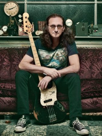 Geddy Lee book signing