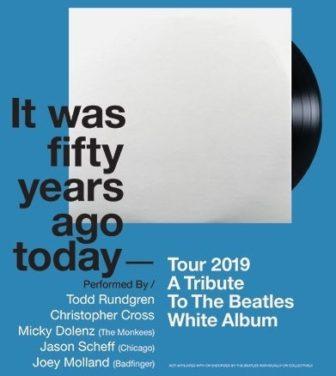 White album tour NJ