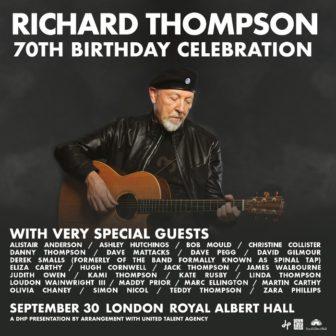 Richard Thompson royal albert hall