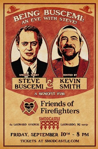 steve buscemi Kevin smith benefit