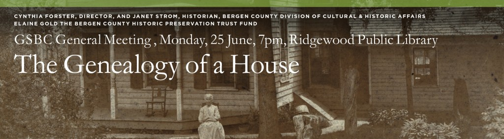The Genealogy of a House @ Ridgewood Public Library | Ridgewood | New Jersey | United States