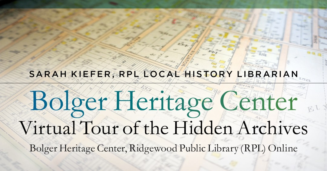 Virtual Tour of the Hidden Archives at the Bolger Heritage Center